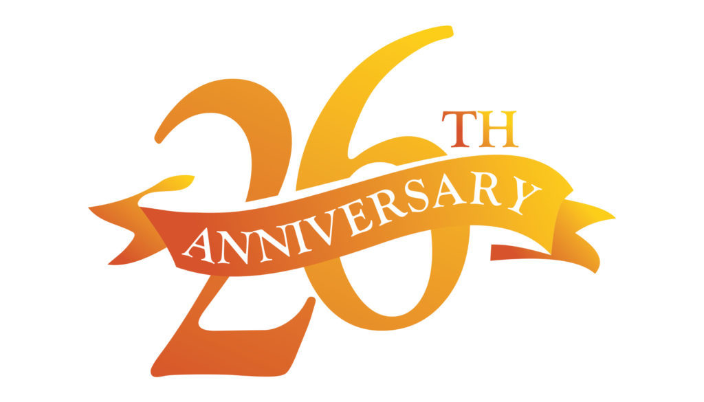 26th Wedding Anniversary Gift: Your Friends In The Industry For 26 Years!